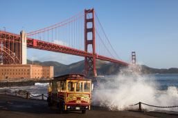 Hornblower Classic Cable Car Charter 3 hrs. transportation