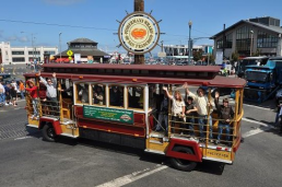 Hornblower Classic Cable Car Charter 4 hrs. transportation